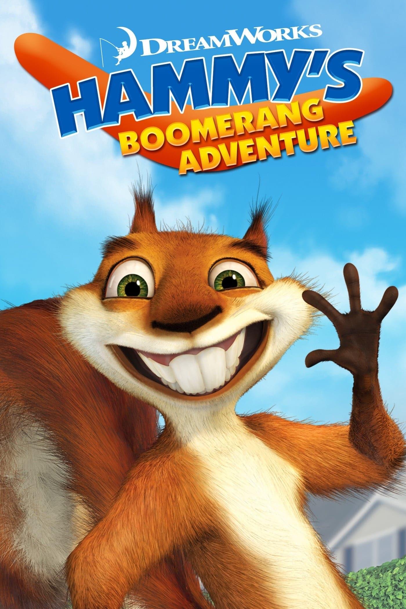"""Plakat von """"Hammy's Boomerang Adventure"""""""