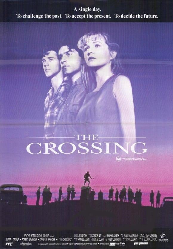 "Plakat von ""The Crossing"""