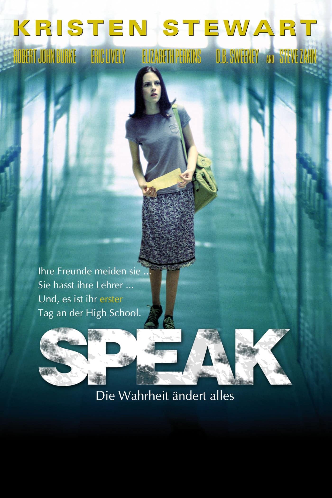 """Plakat von """"Speak – Die Wahrheit ändert alles"""""""
