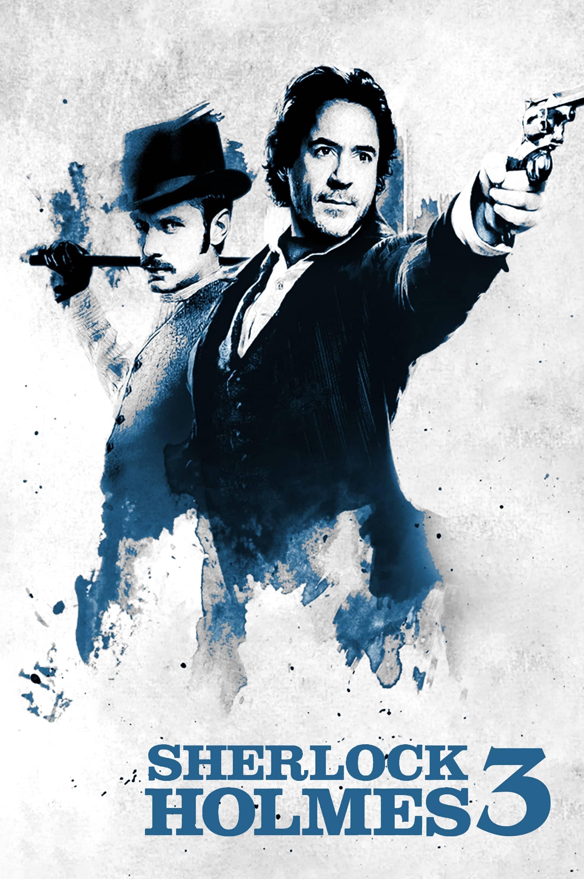 """Plakat von """"Sherlock Holmes 3"""""""