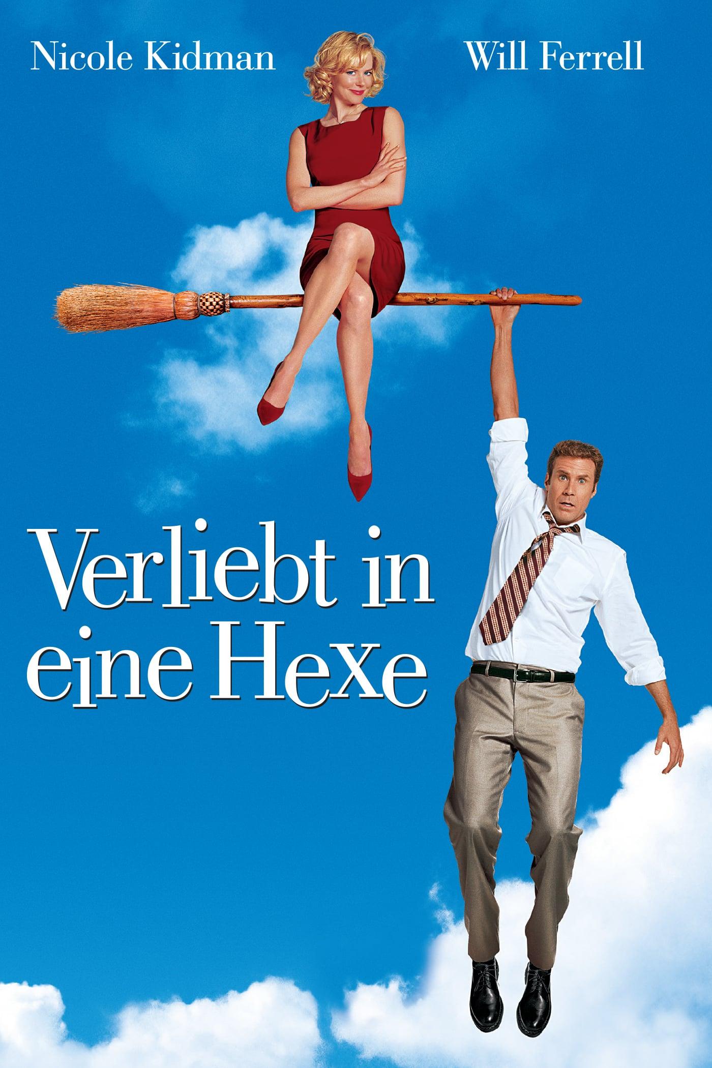 """Plakat von """"Verliebt in eine Hexe"""""""