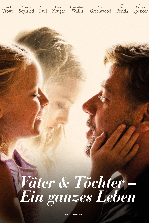 """Plakat von """"Väter und Töchter - Ein ganzes Leben"""""""
