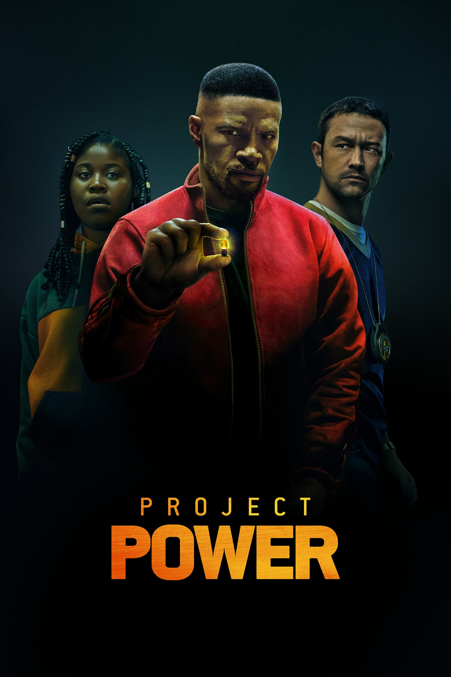 "Plakat von ""Project Power"""