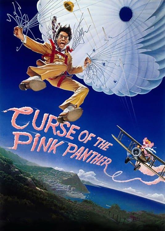 """Plakat von """"Der Fluch des rosaroten Panthers"""""""