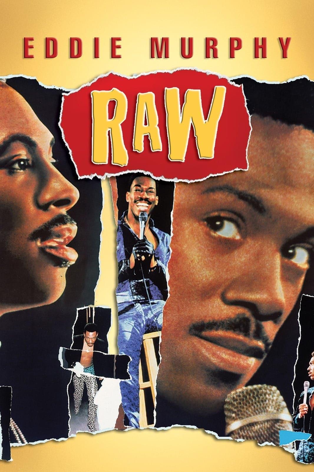 """Plakat von """"Eddie Murphy Raw"""""""