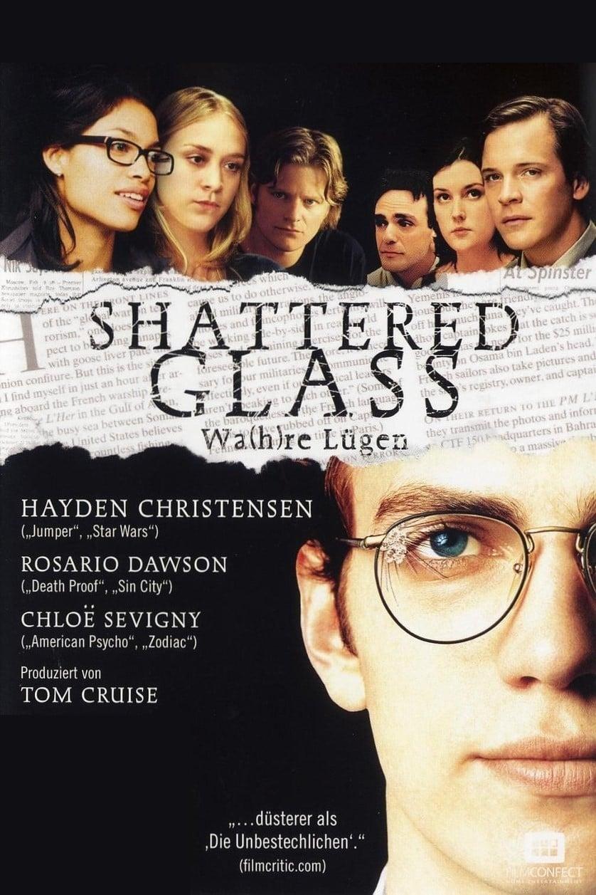 """Plakat von """"Lüge und Wahrheit - Shattered Glass"""""""