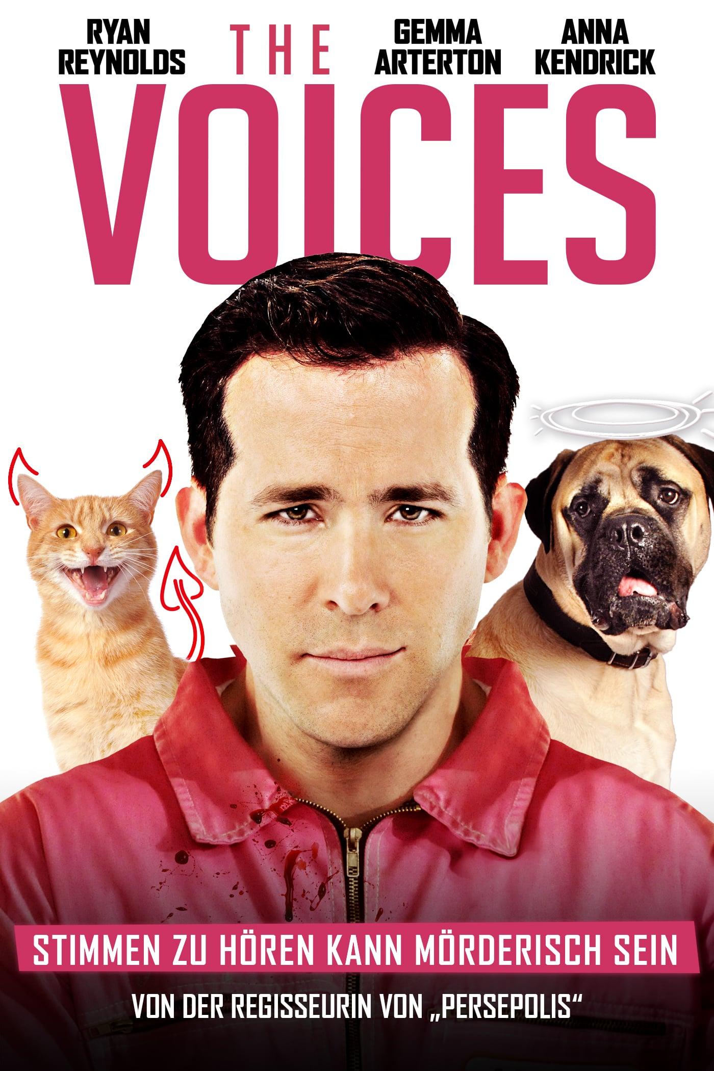 """Plakat von """"The Voices"""""""