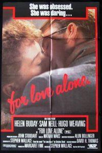 """Plakat von """"Nur die Liebe allein"""""""