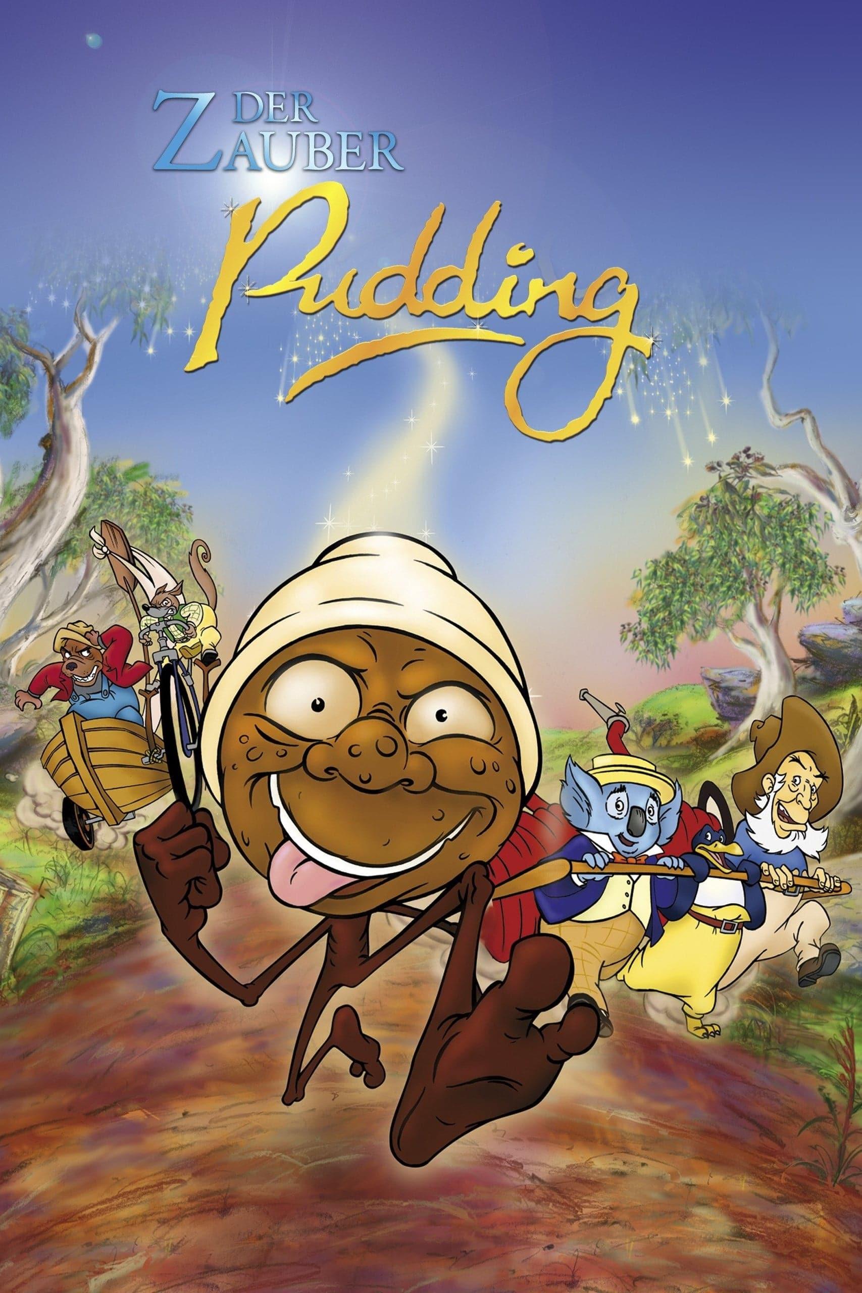 """Plakat von """"Der Zauberpudding"""""""