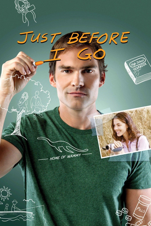 "Plakat von ""Just Before I Go"""