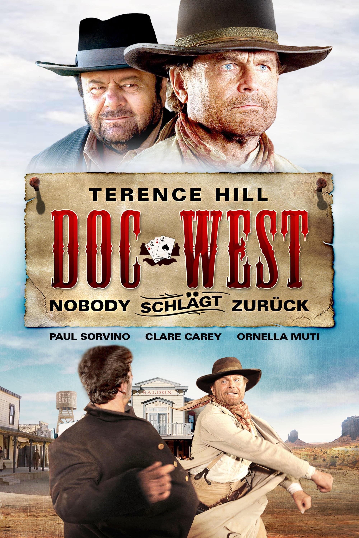 """Plakat von """"Doc West - Nobody schlägt zurück"""""""