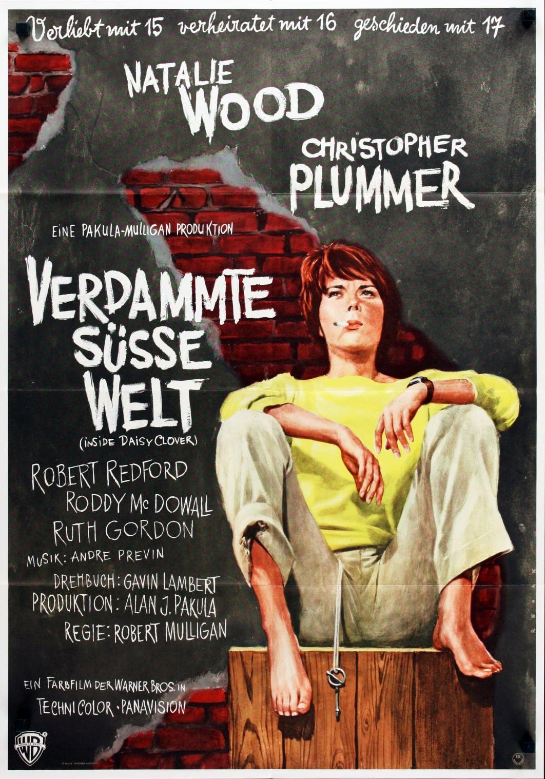 """Plakat von """"Verdammte süße Welt"""""""