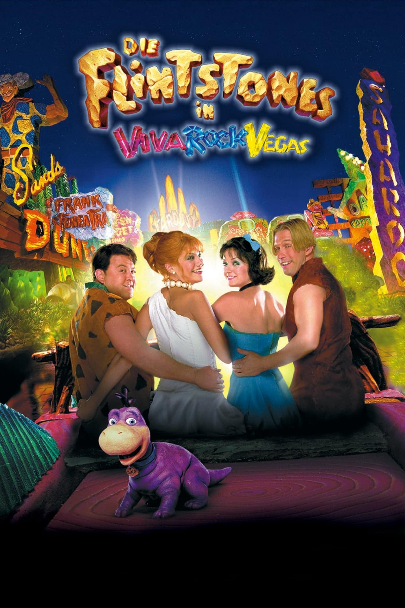 """Plakat von """"Die Flintstones in Viva Rock Vegas"""""""