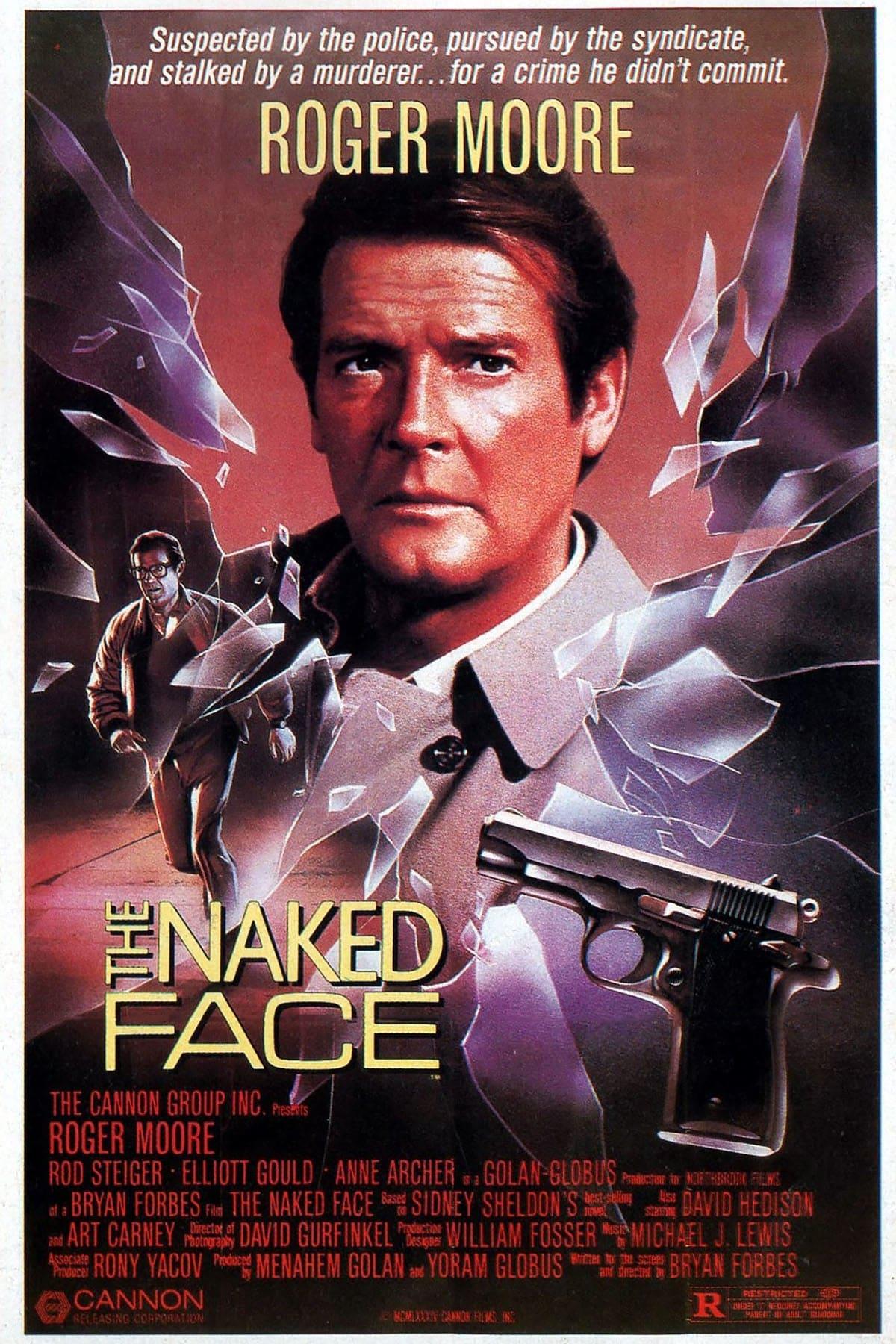 """Plakat von """"Das nackte Gesicht"""""""