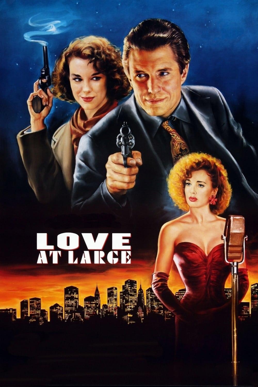 """Plakat von """"Die Liebe eines Detektivs"""""""
