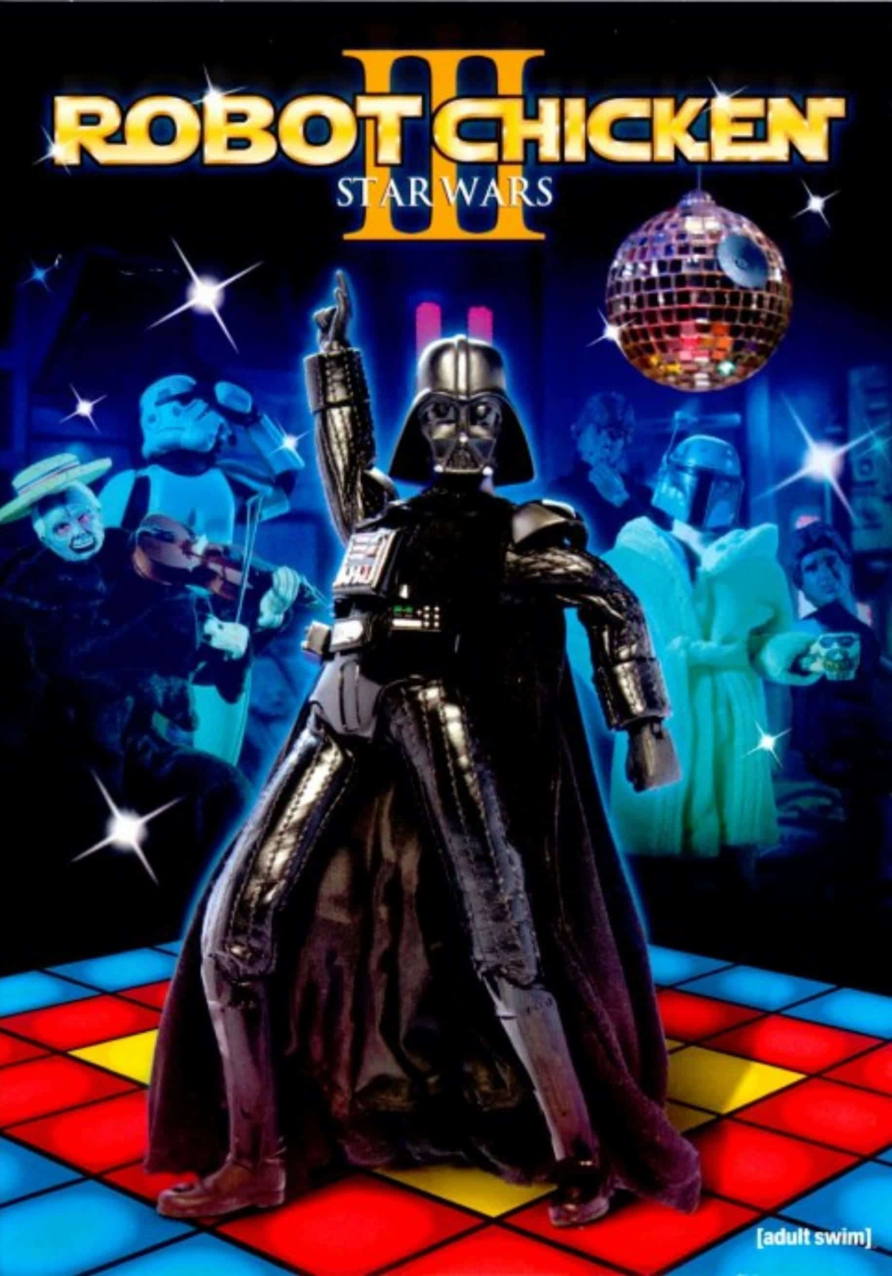 "Plakat von ""Robot Chicken: Star Wars Episode III"""