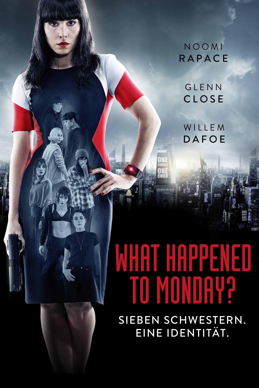 "Plakat von ""What Happened to Monday?"""