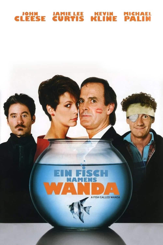 """Plakat von """"Ein Fisch namens Wanda"""""""