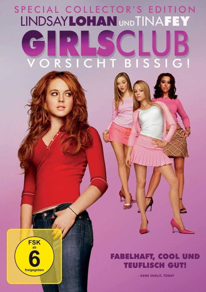 """Plakat von """"Girls Club - Vorsicht bissig"""""""