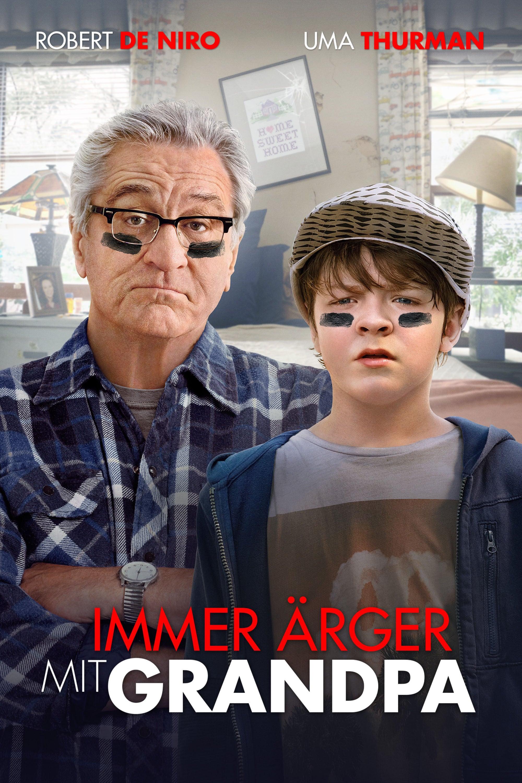 """Plakat von """"Immer Ärger mit Grandpa"""""""