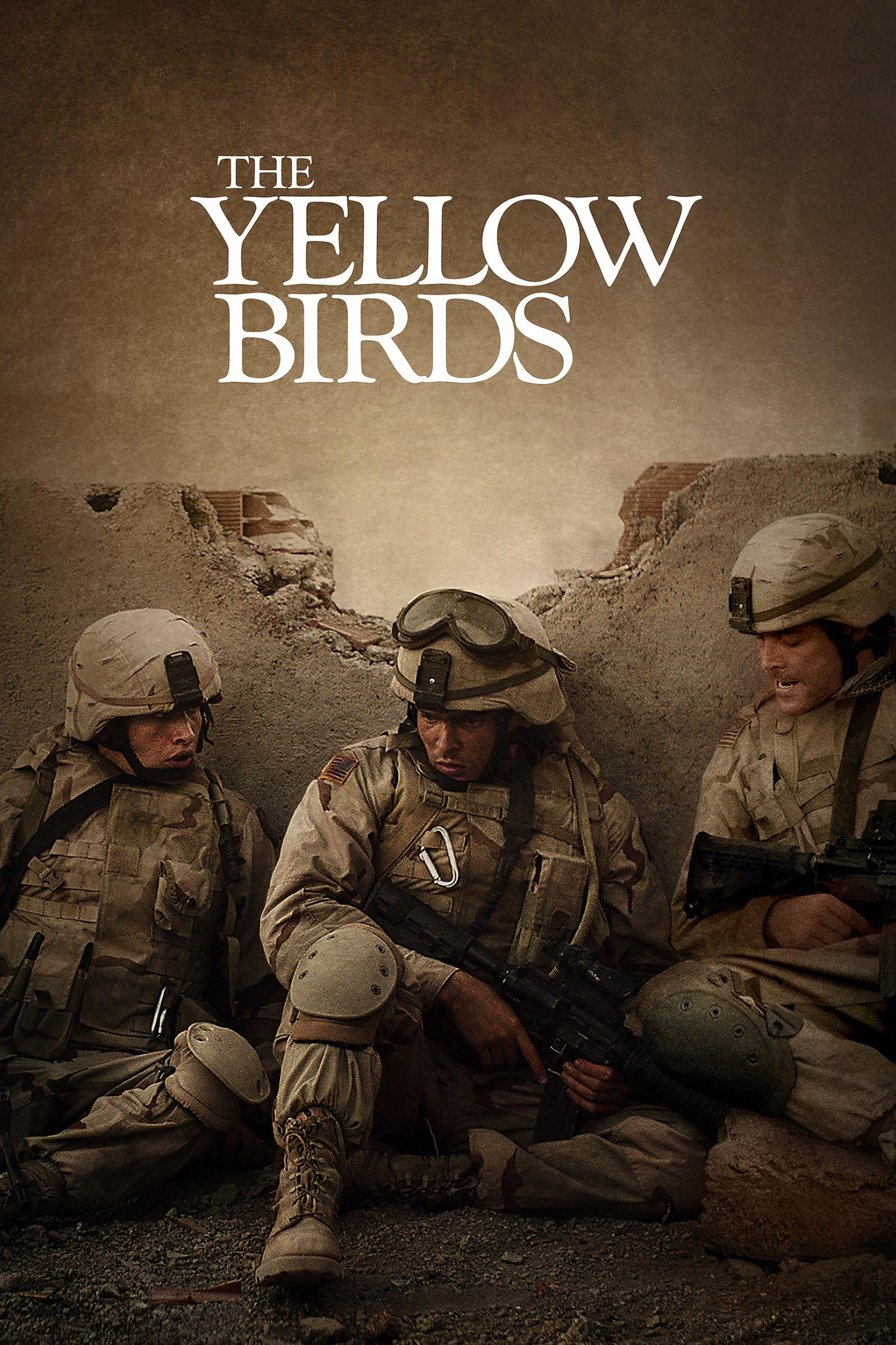 """Plakat von """"The Yellow Birds"""""""