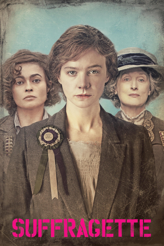 """Plakat von """"Suffragette – Taten statt Worte"""""""