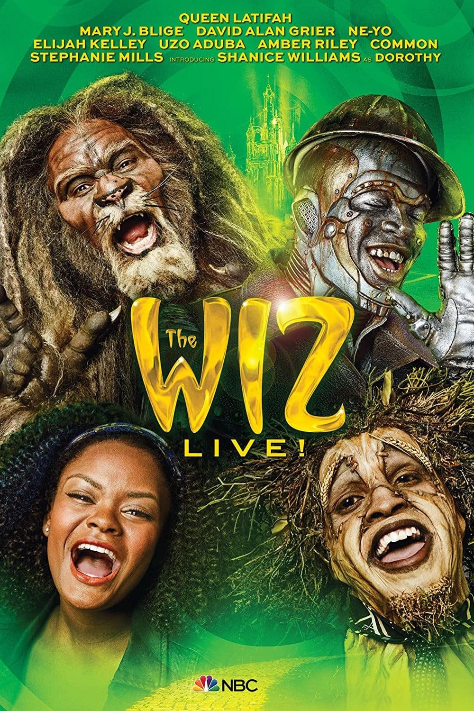 """Plakat von """"The Wiz Live!"""""""