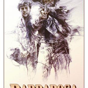 """Plakat von """"Die Ballade vom Banditen Barbarosa"""""""