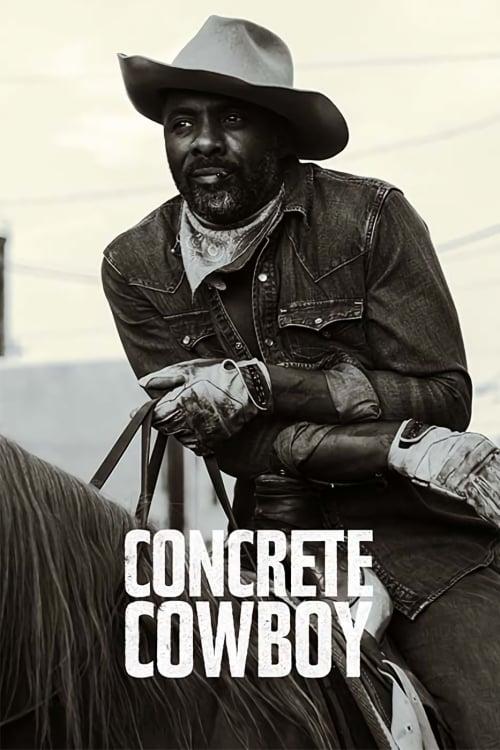 """Plakat von """"Concrete Cowboy"""""""