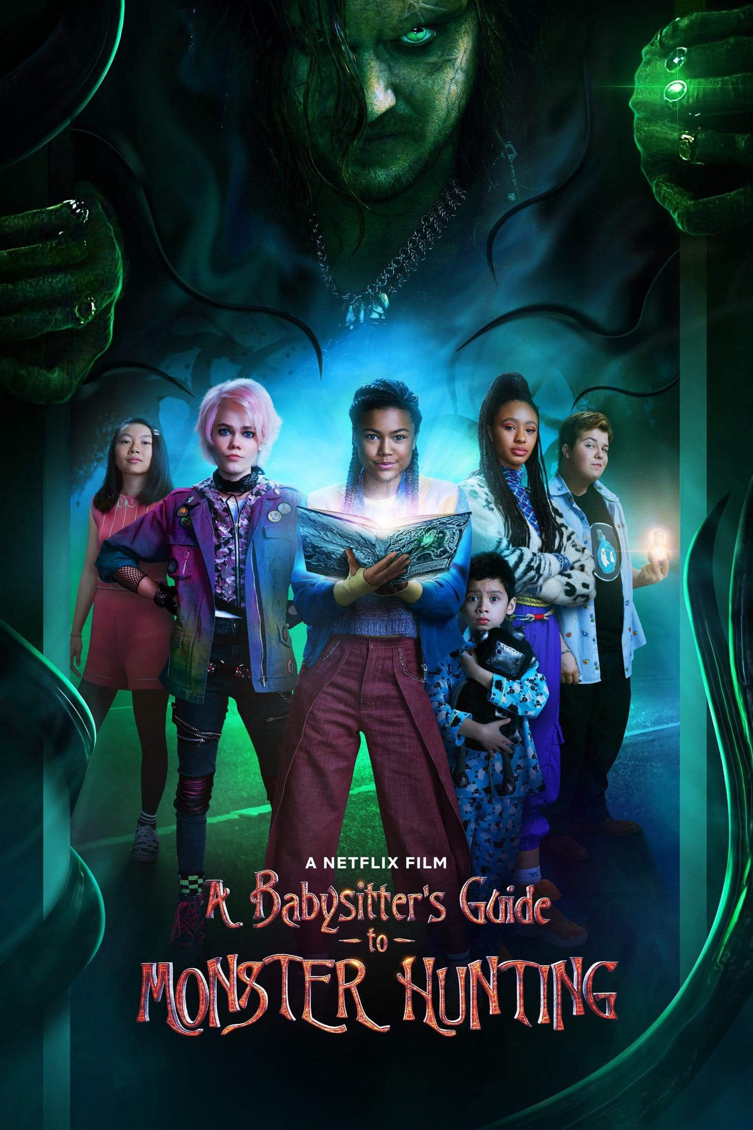 "Plakat von ""A Babysitter's Guide to Monster Hunting"""