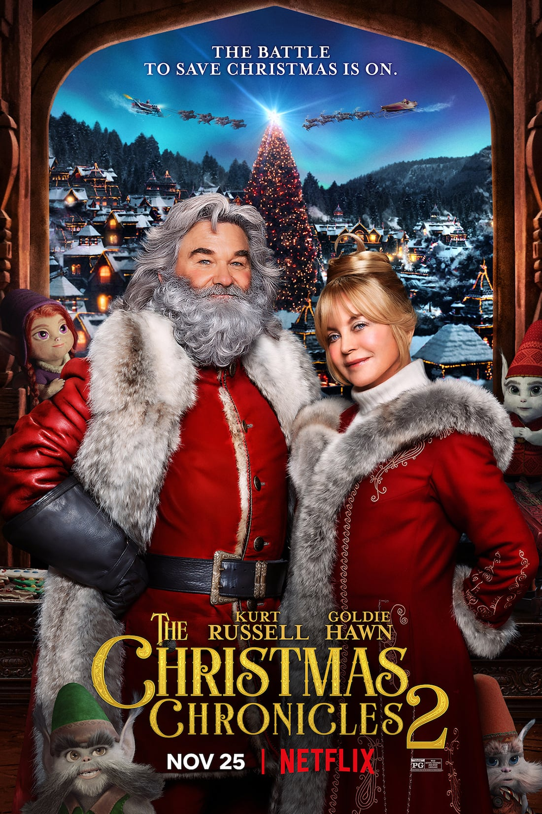 "Plakat von ""The Christmas Chronicles 2"""
