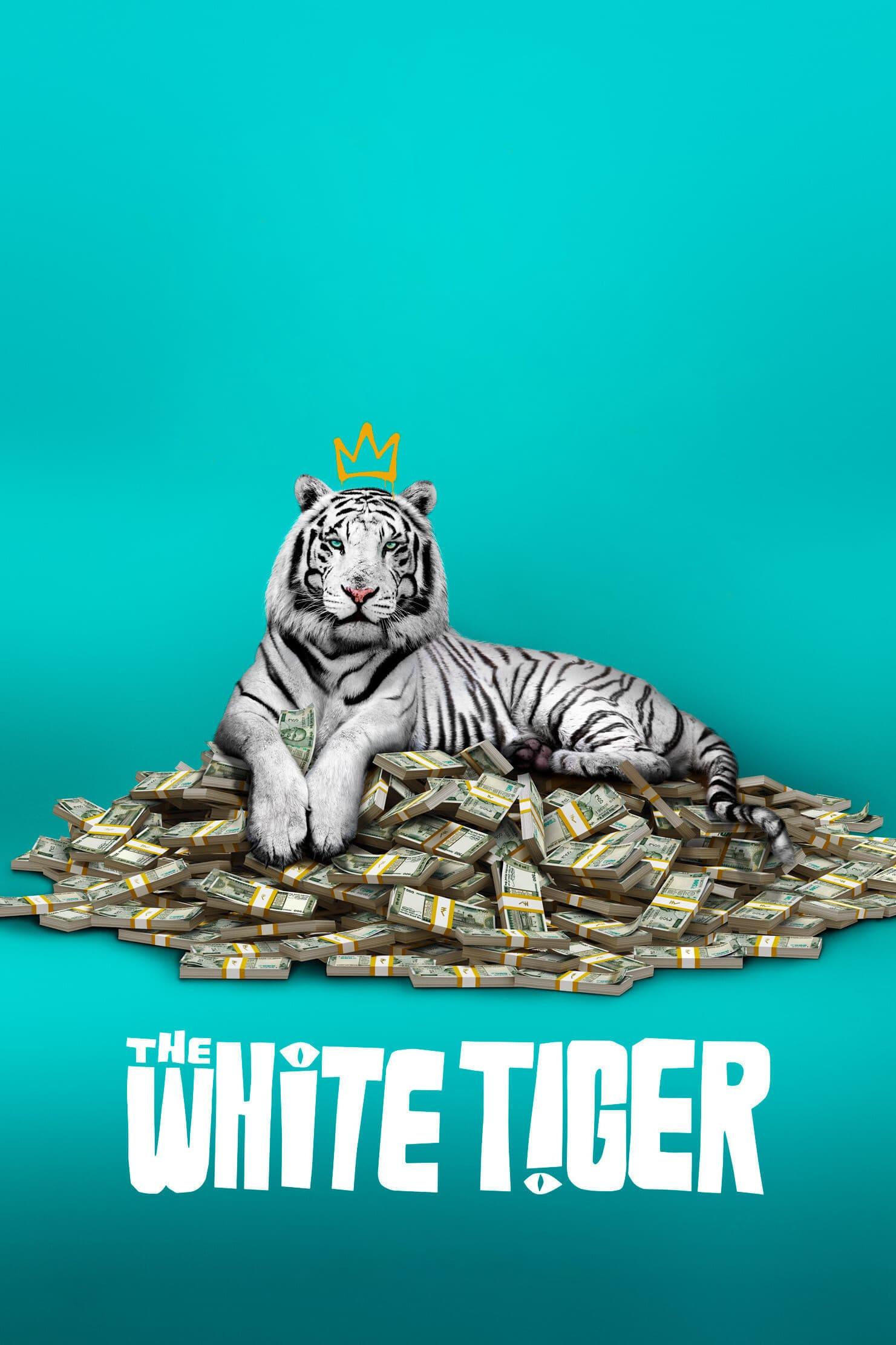 """Plakat von """"Der weiße Tiger"""""""