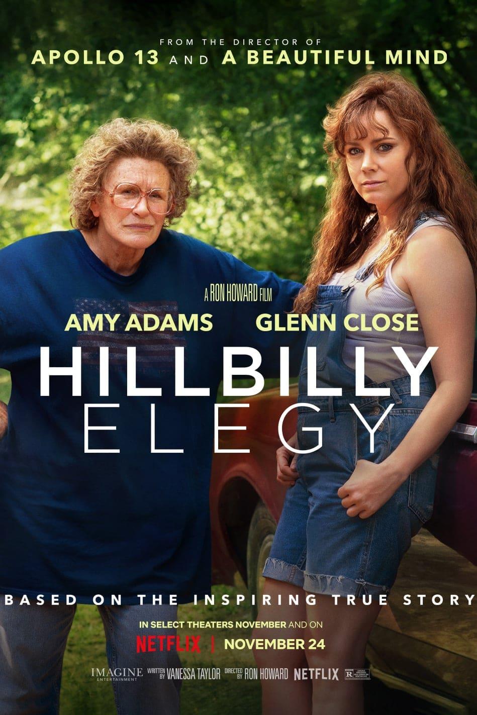 """Plakat von """"Hillbilly-Elegie"""""""
