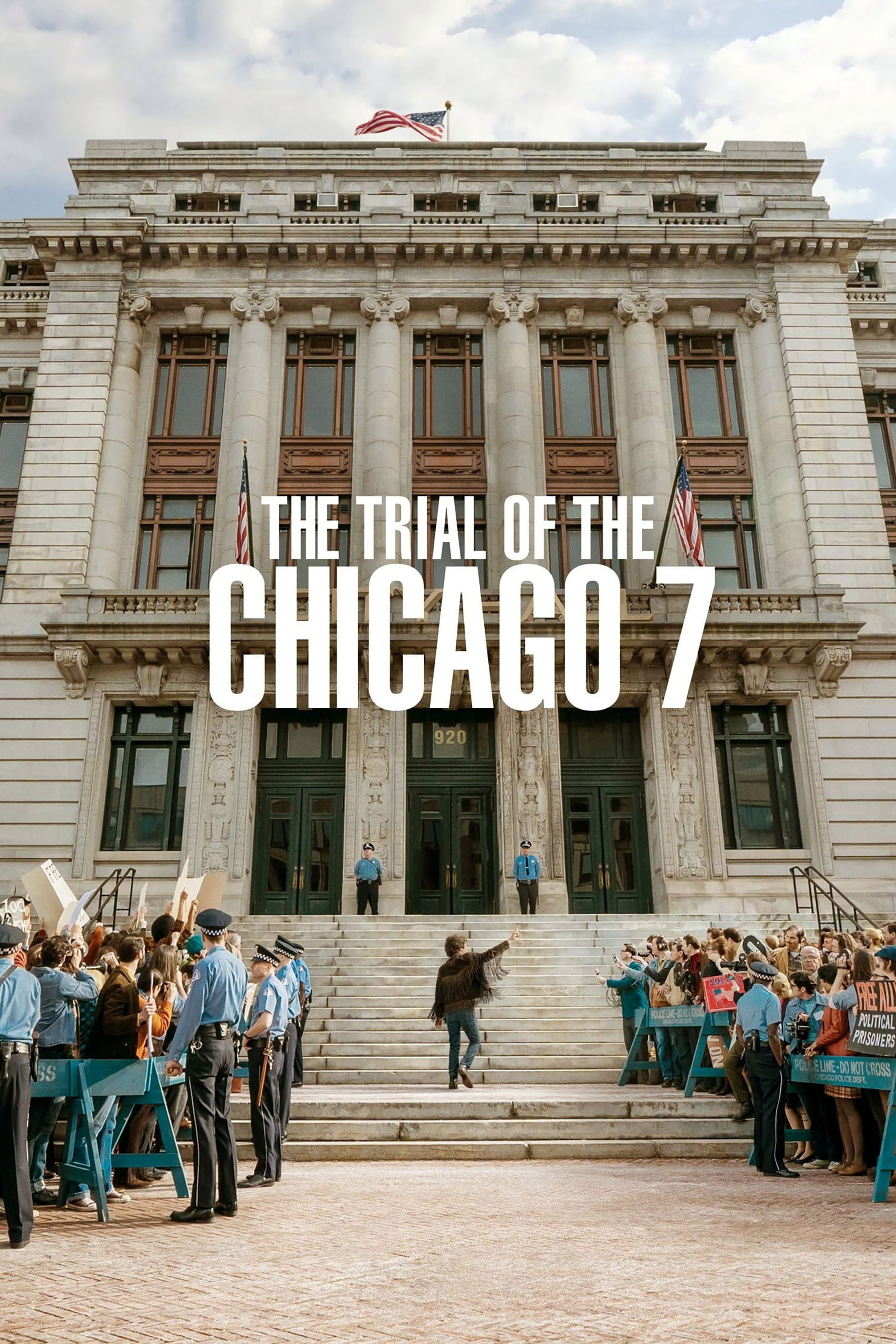 "Plakat von ""The Trial of the Chicago 7"""