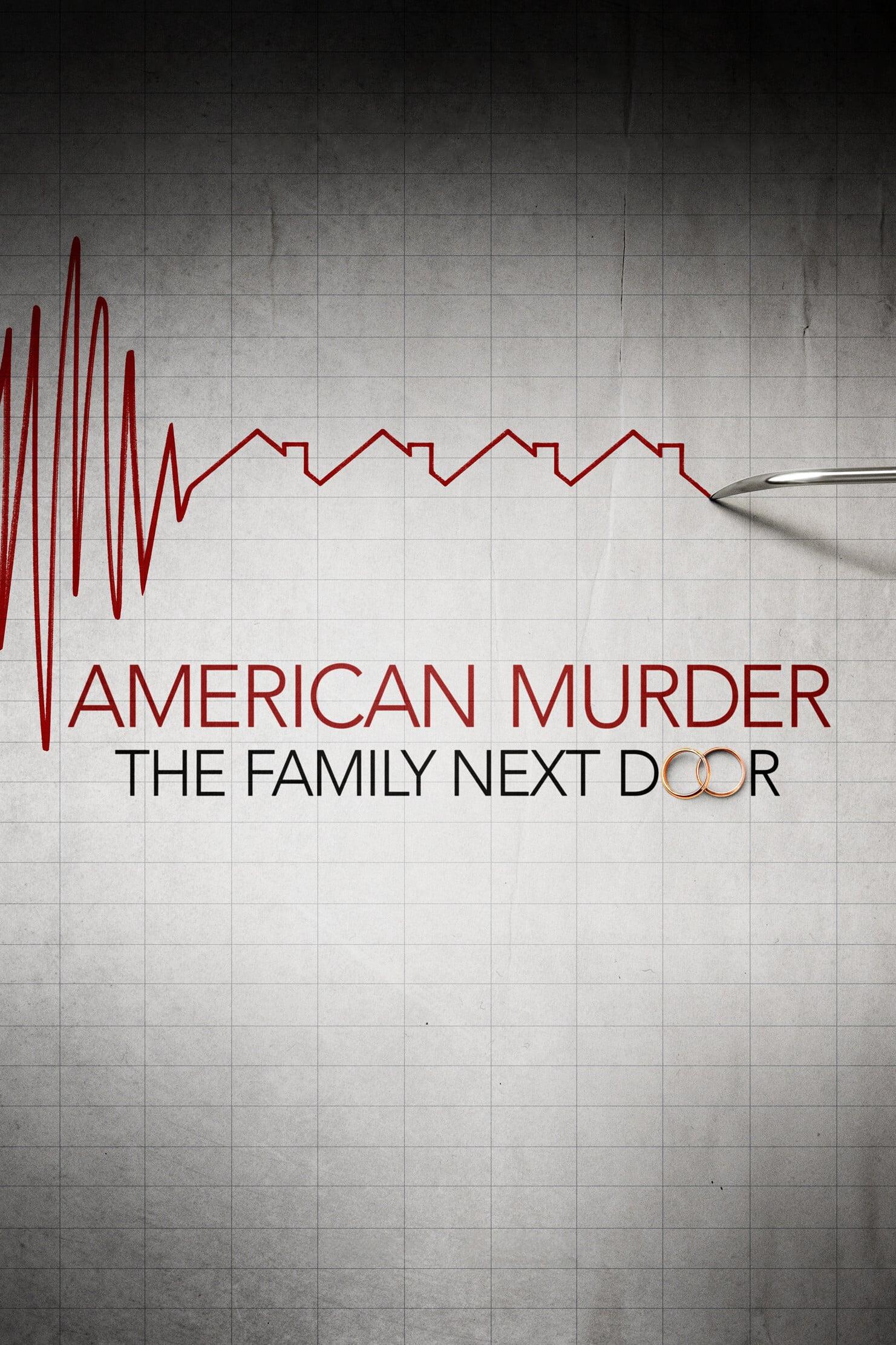 """Plakat von """"American Murder Die Bilderbuchfamilie"""""""