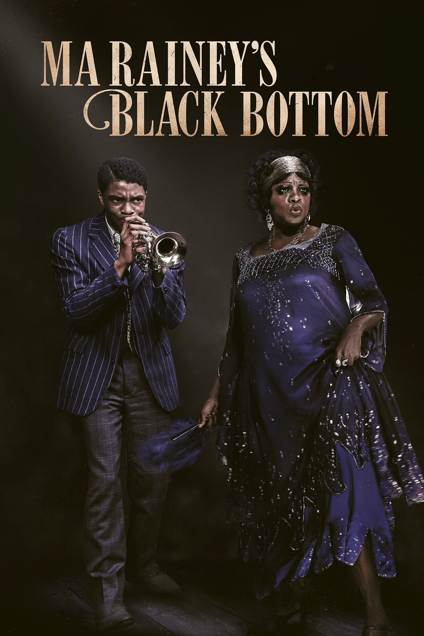 "Plakat von ""Ma Rainey's Black Bottom"""