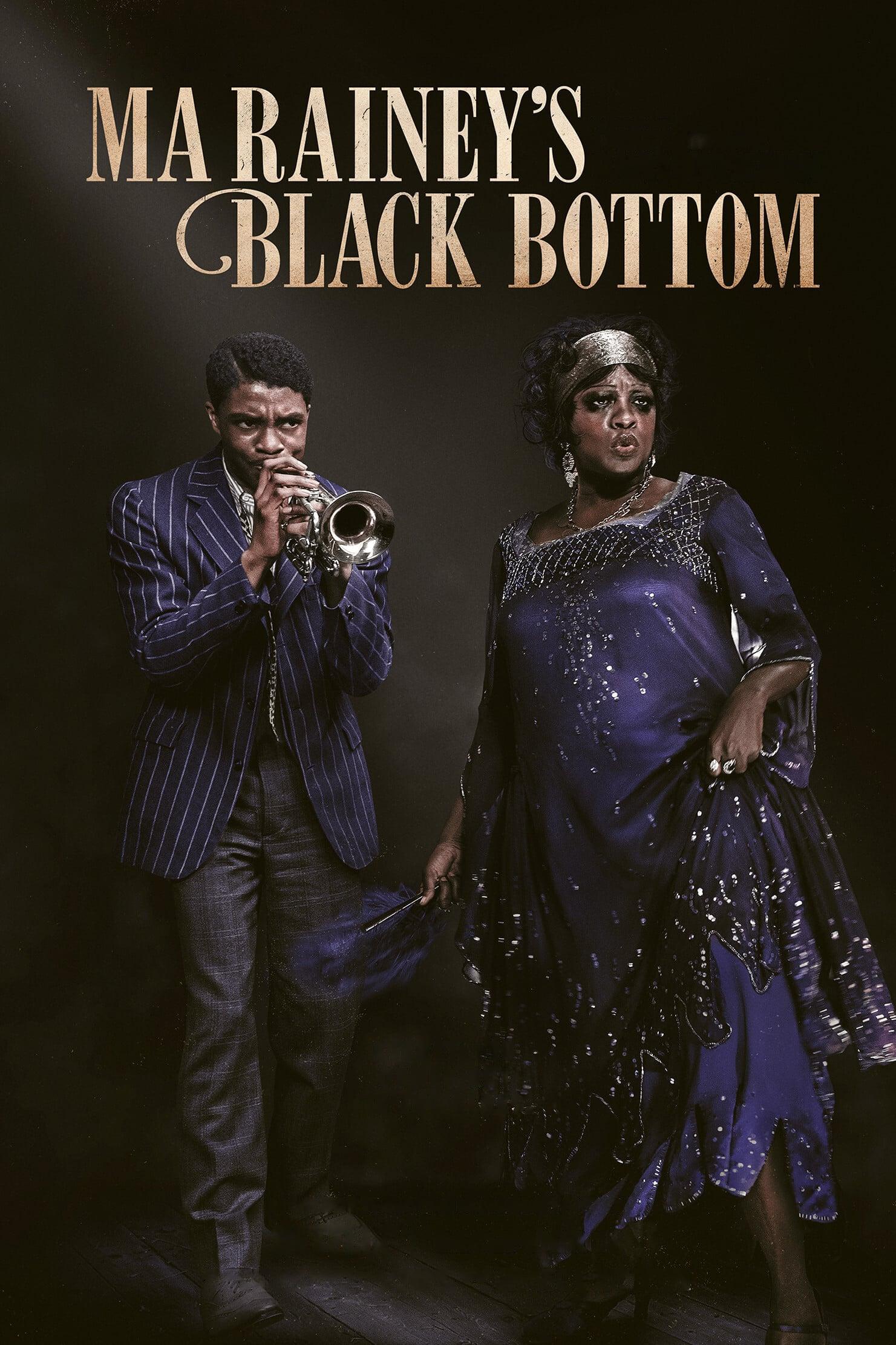 "Plakat von ""Ma Rainey's Black Bottom"""