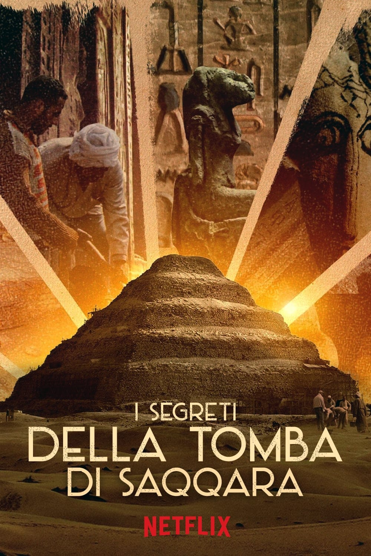 """Plakat von """"Secrets of the Saqqara Tomb"""""""