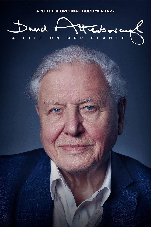 """Plakat von """"David Attenborough: Mein Leben auf unserem Planeten"""""""