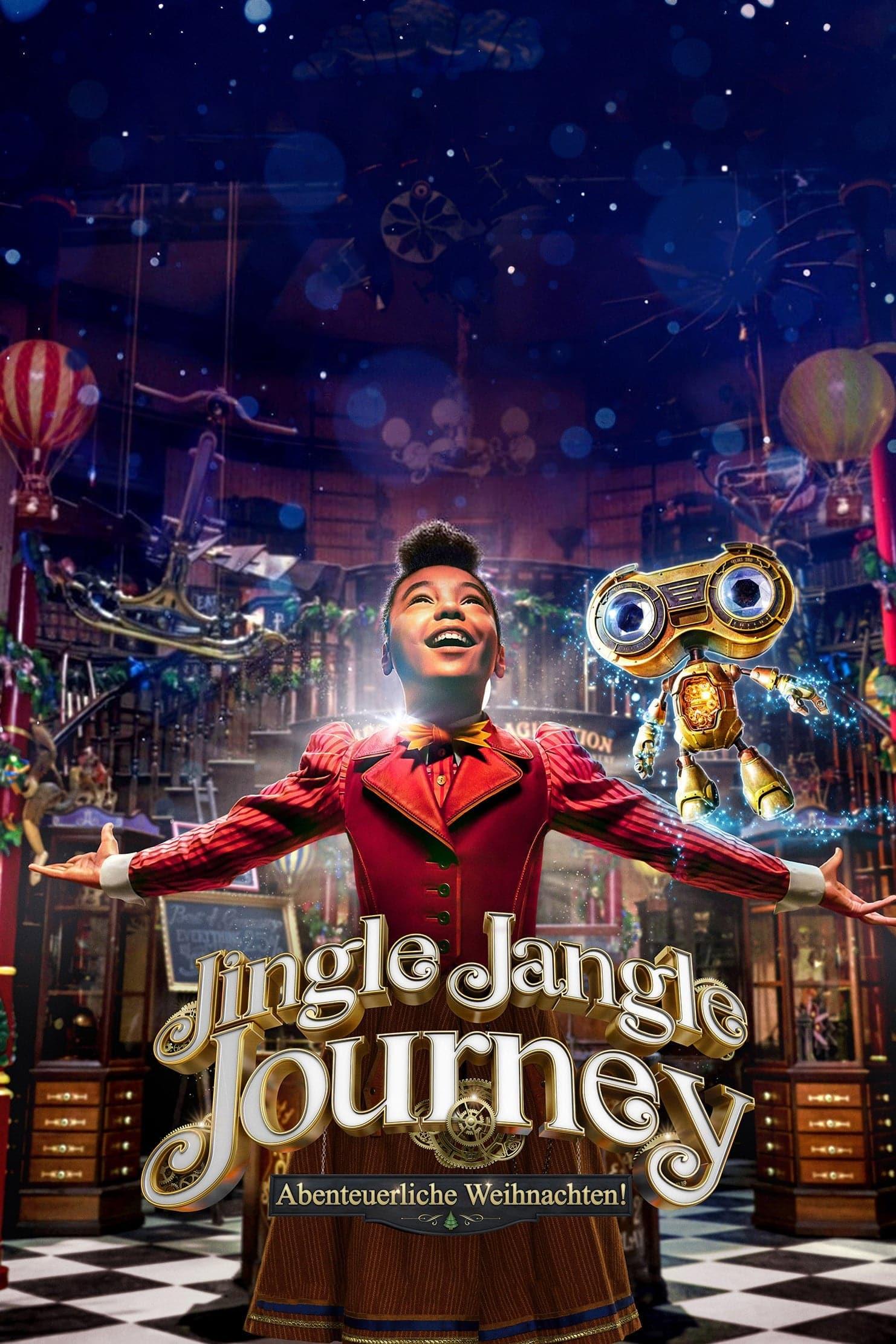 """Plakat von """"Jingle Jangle Journey: Abenteuerliche Weihnachten!"""""""